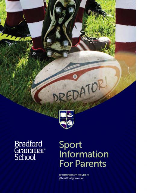 Sport information for parents