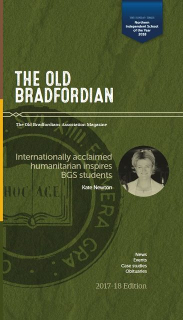 Old Bradfordian: 2018