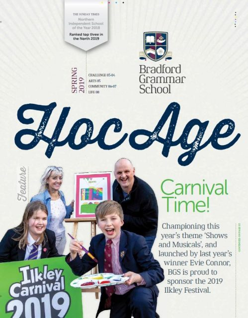 Hoc Age Senior and Sixth Form: Spring 2019