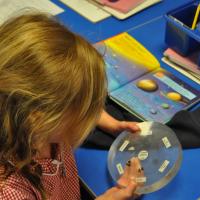 Moon rocks visit Tranmere Park Primary School